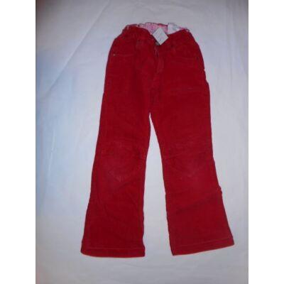 122-es piros kordnadrág - H&M