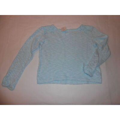 128-as kék kötött lány pulóver - Pepco