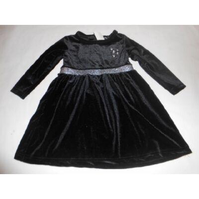 92-es fekete plüss alkalmi ruha