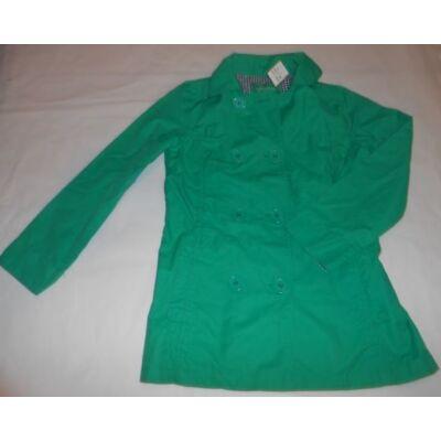 140-es zöld lány átmeneti kabát - C&A