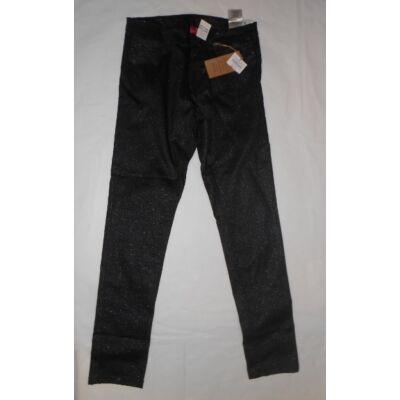 152-es fekete csillogó lány nadrág - Y.F.K - ÚJ
