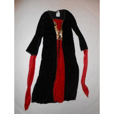 4-6 évesre piros-fekete plüss jelmezruha