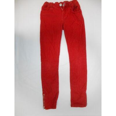 152-es piros lány kordnadrág - GAP