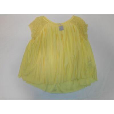 152-es sárga lenge blúz - Zara
