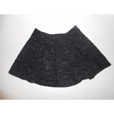 158-164-es fekete cirmos hatású szoknya - Zara