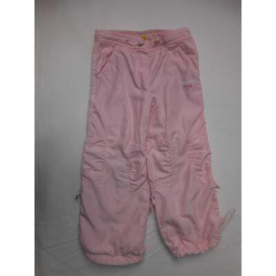 104-110-es rózsaszín pauttal bélelt nadrág