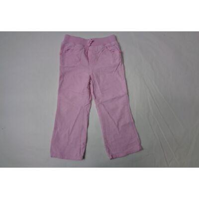 104-es rózsaszín kordnadrág - Cherokee