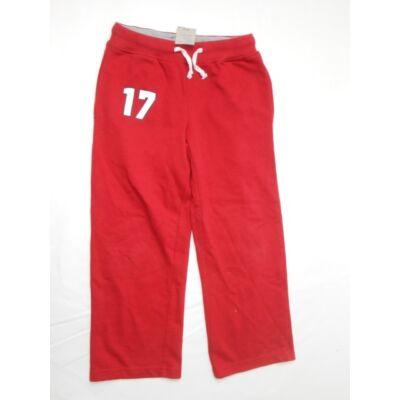116-os piros lány tréningalsó - Basic