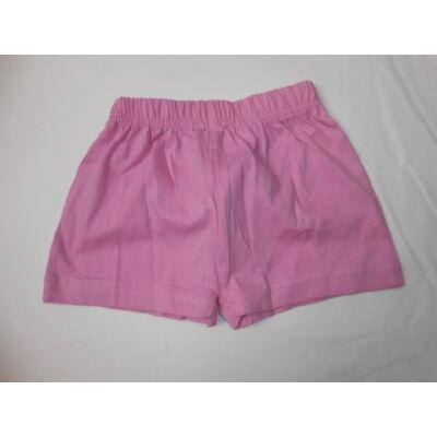 116-os rózsaszín pamutshort - ÚJ