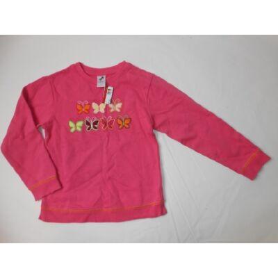 122-es rózsaszín pillangós pulóver - C&A