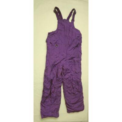 158-164-es lila overallalsó, sínadrág