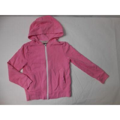 128-134-es rózsaszín pamut kardigán - F&F