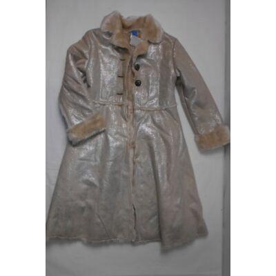 134-es drapp csillogó szőrmés kabát - Adams