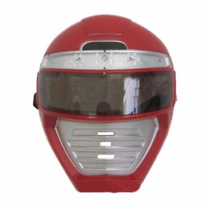 Világító piros robot, Rode Captain maszk, álarc - ÚJ