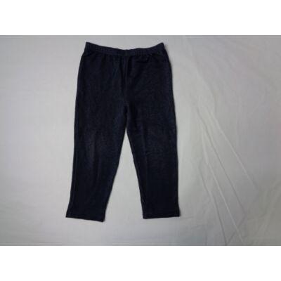 104-110-es sötétkék leggings