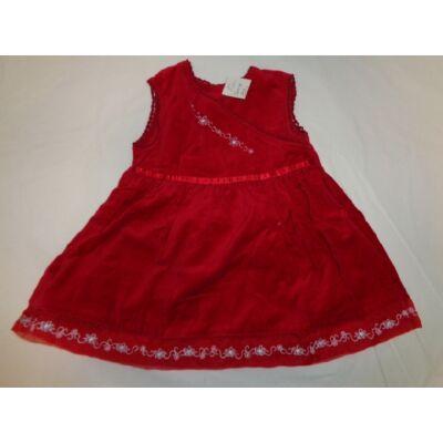 80-as piros plüs ruha - St. Bernard