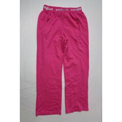 140-146-os rózsaszín tréningalsó