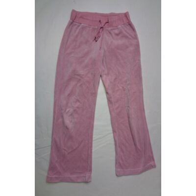 140-es rózsaszín plüss nadrág