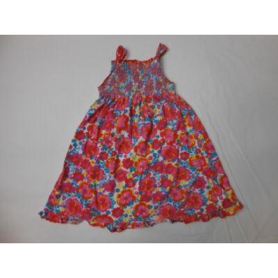 86-92-es virágos ujjatlan nyári ruha - Miniclub