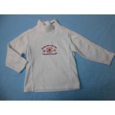 116-os fehér feliratos polár pulcsi - C&A