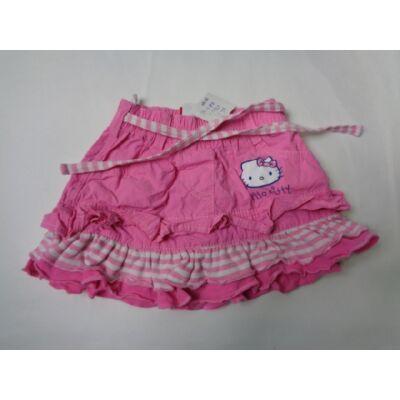 86-os rózsaszín vászonszoknya - Hello Kitty