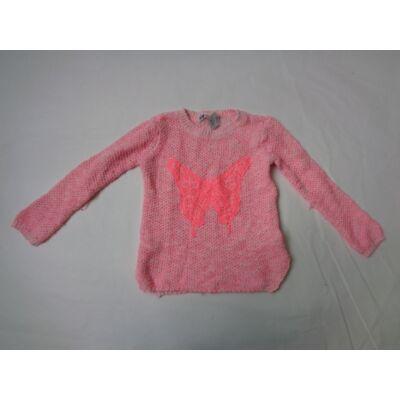 98-104-es rózsaszín kötött pulcsi - H&M