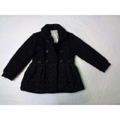 110-es fekete szövet kabát kislánynak - C&A