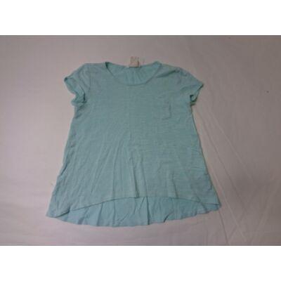 122-128-as türkizzöld lány póló - H&M