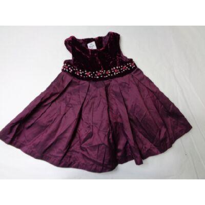 62-es bordó virágos ruha - H&M