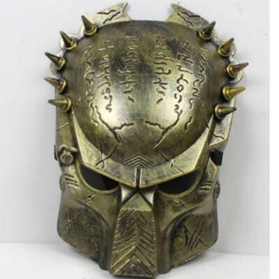 Arany színű Predator maszk - ÚJ