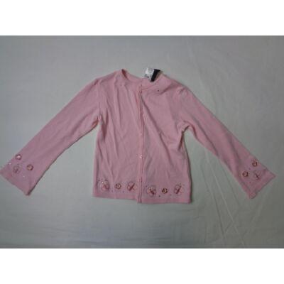122-es rózsaszín pamut kardigán - C&A