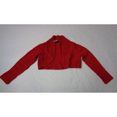 128-as piros kötött boleró - Zara