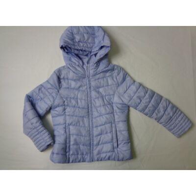 128-as liláskék lányka átmeneti kabát - Zara