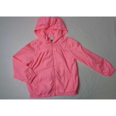 128-as neon-rózsaszín átmeneti kabát