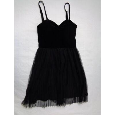 158-as fekete spagettipántos ruha - H&M