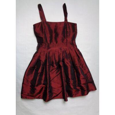 152-es bordó pántos alkalmi ruha - Red Herring