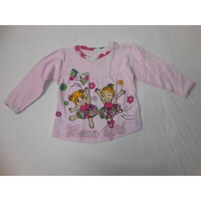 74-es rózsaszín lányos pamutfelső