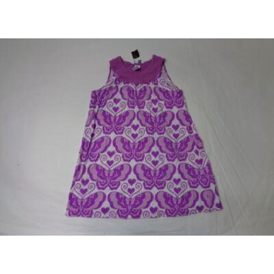 110-116-os lila virágos ujjatlan ruha - H&M