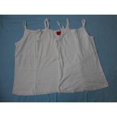 164-es fehér trikók, 3 db egyben - Zara