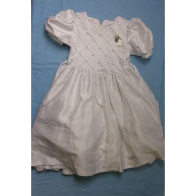 128-as fehér koszorúslány ruha