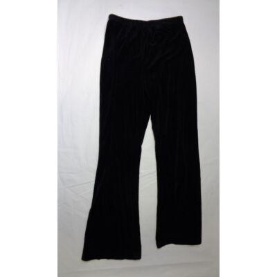 158-as fekete plüss nadrág - Hannah Montana
