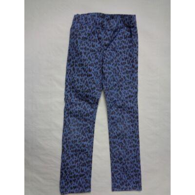 116-os kék párducmintás lány nadrág - H&M