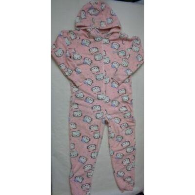 164-es rózsaszín szőrmés háziruha - Hello Kitty