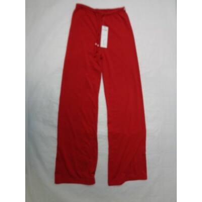 134-es piros lány vékony tréningalsó - ÚJ