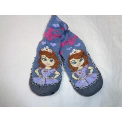 24-25-ös tappancsos mamusz-zokni - Sofia Hercegnő