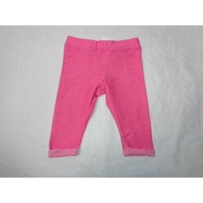 62-68-as pink pamutnadrág - F&F