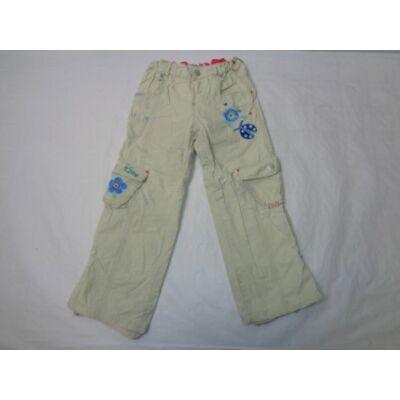 116-os drapp virágos pamut bélésű nadrág - Marks & Spencer