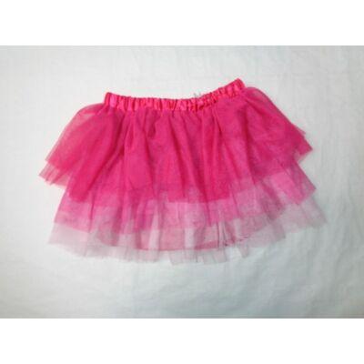 128-as pink  többrétegű alábélelt tüllszoknya - H&M