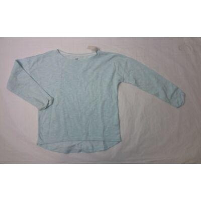 146-152-es halványzöld vékony pulcsi - H&M