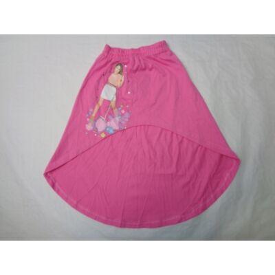116-os rózsaszín pamutszoknya - Violetta - ÚJ